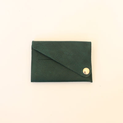 Kaagazi Abridged Wallet: Velvet Green