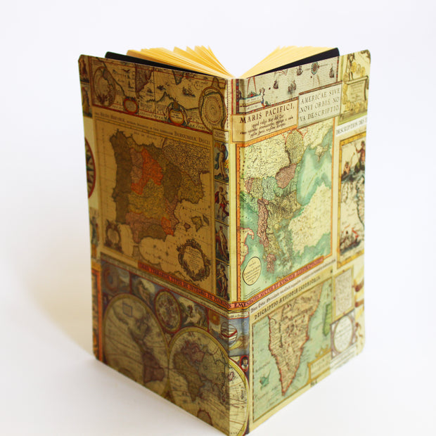 Marauders Map Ruled Notebook