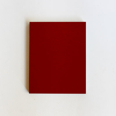 A6 Maroon Ideator Sketchbook