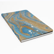 Blue Marble Split Notebook