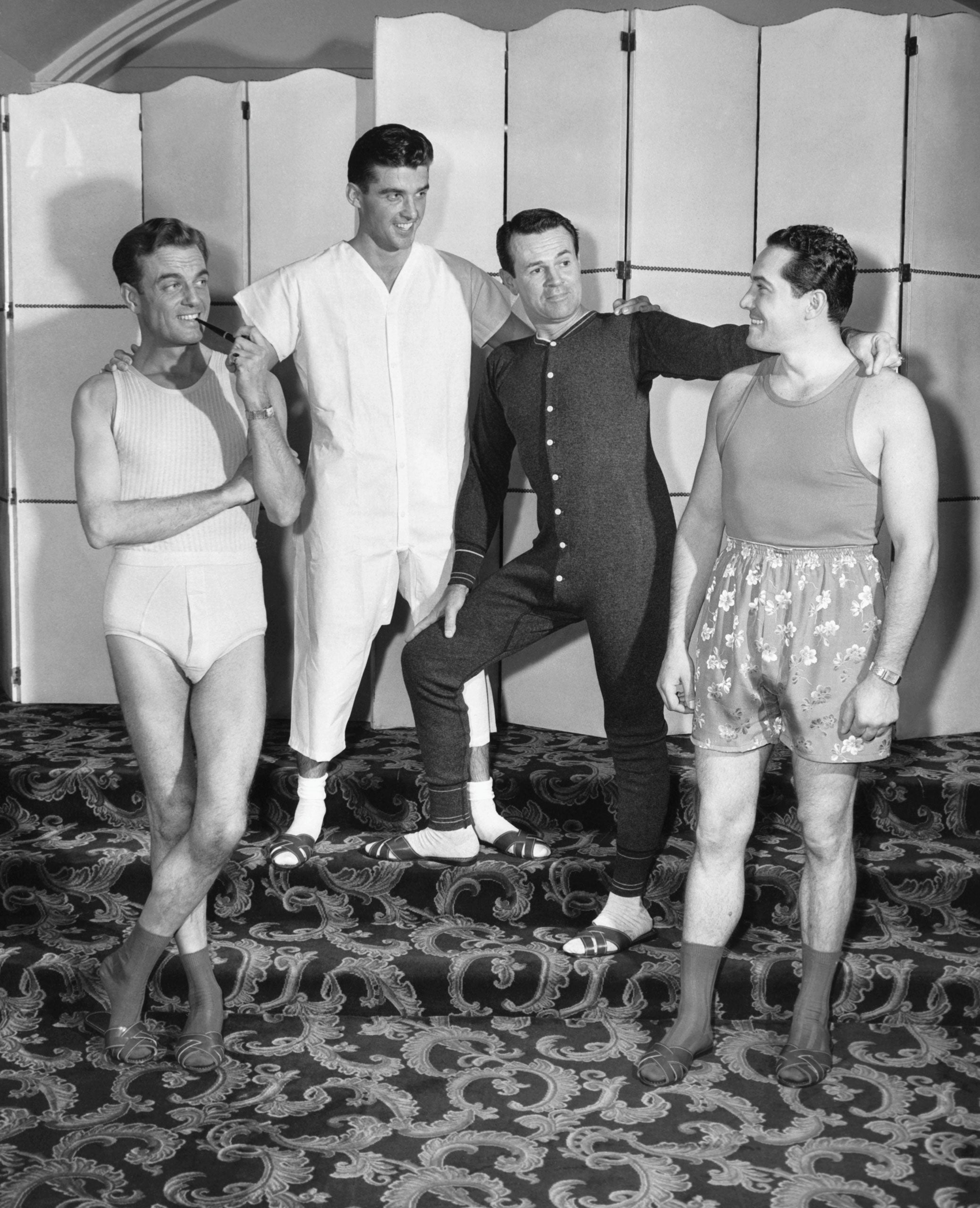 The History of Underwear: A Brief Flash
