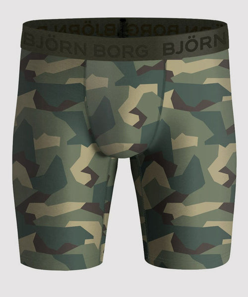 Bjorn Borg boxer briefs. Go covert with these camouflage boxers.
