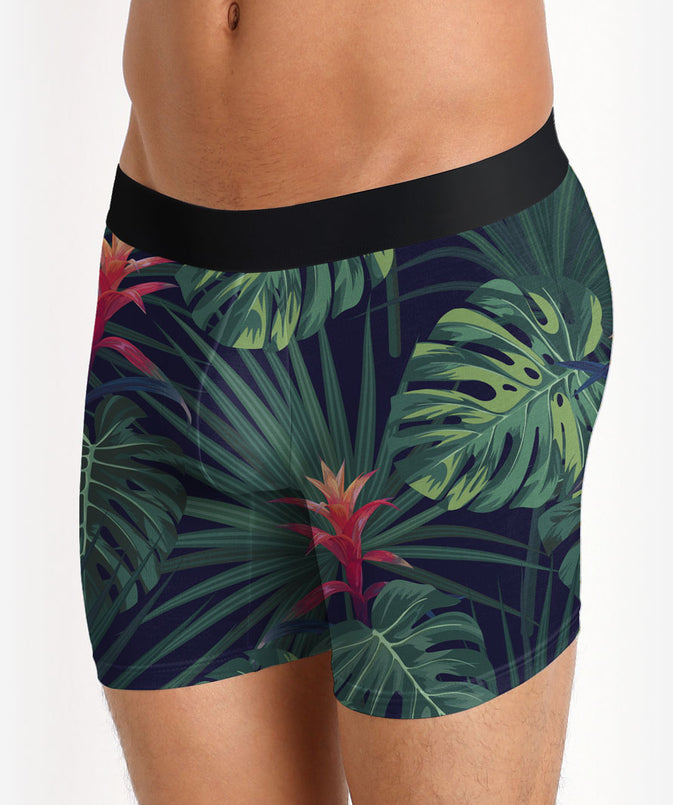 tropical boxer brief