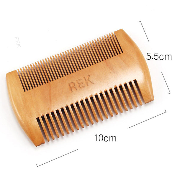 Sandalwood Beard Comb - REK Cosmetics