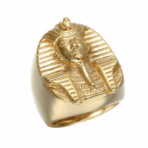 Golden King Tut Ring