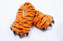 Tiger Feet Slippers for Adults