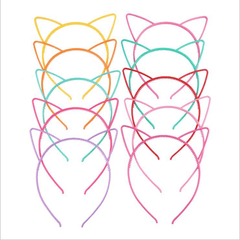 Cat Ears Headband Multicolor