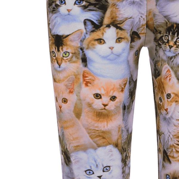Cat Squad Leggings - AnimalsLuxury