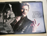 Calendrier Collector Johnny Hallyday - At-Home Group