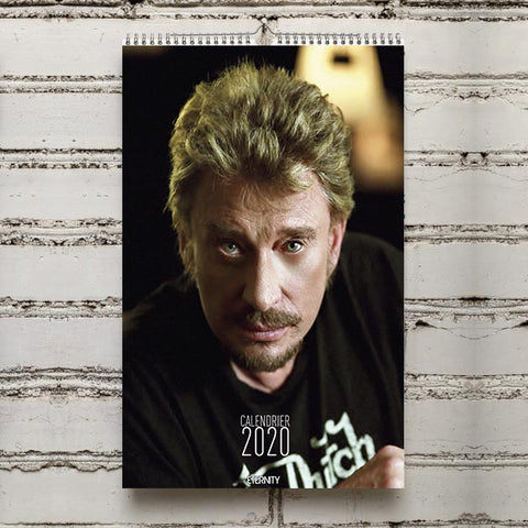 CALENDRIER 2020 Johnny