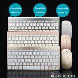 Clavier + Souris 2.4GHz pour Apple Mac PC Win XP/ 7/8 - At-Home Group