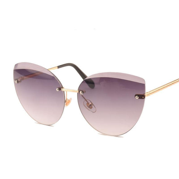 Lunette de soleil Cat Eye Sunglasses Fashion pour femme - At-Home Group