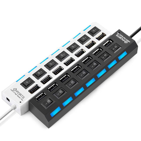 Multi -Ports USB avec Interupteur - At-Home Group