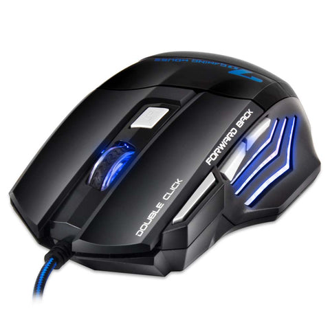Souris Gamer Professionnel 7 Bouton pour Gamer X7 - At-Home Group
