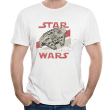 Tee Shirt Star Wars The Force Awakens VII Starwars Tees Fashion Style Homme