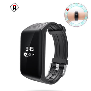 Montre Smart Watch Moniteur de Fréquence Cardiaque Étanche - At-Home Group