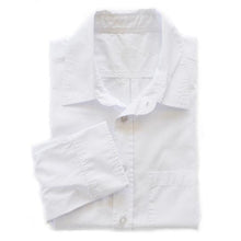 Franklin Poplin Shirt | White