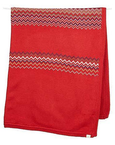 Red Knit Blanket