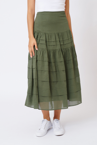 Freesia Skirt | Fern