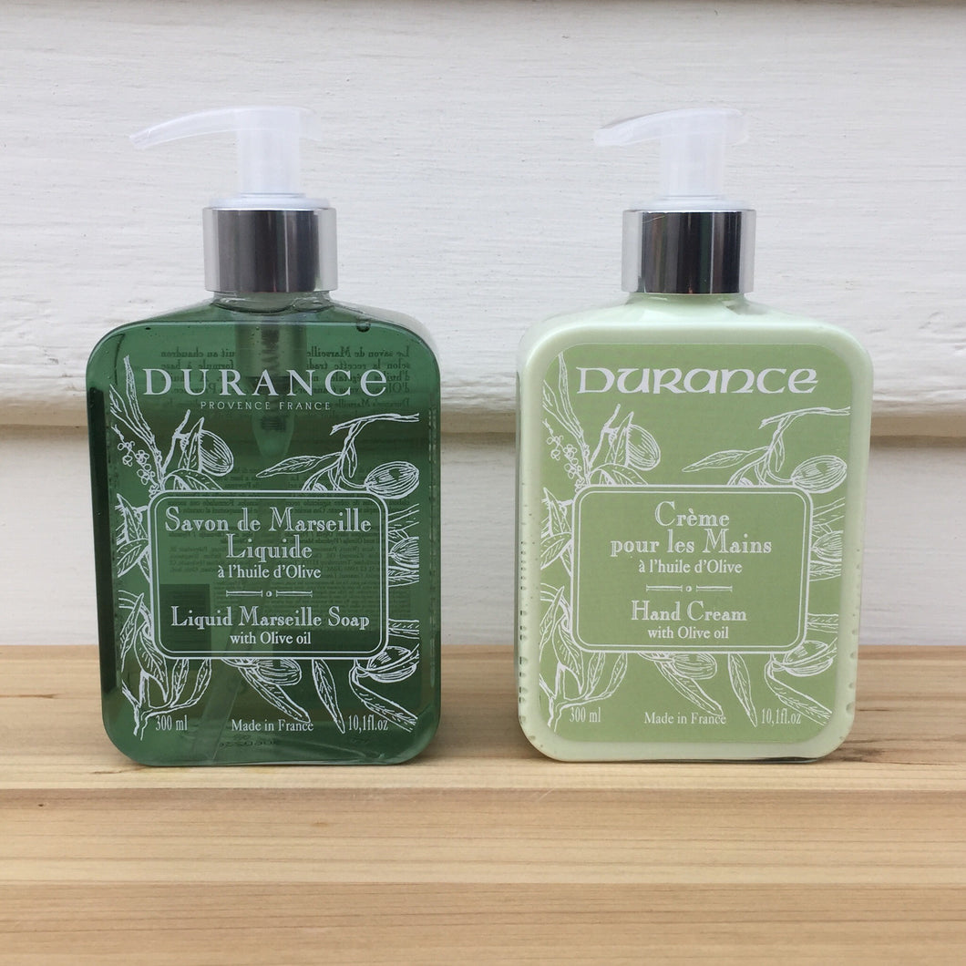 Liquid Marseilles Soap with Olive Oil & Hand Cream