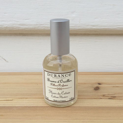 Durance Pillow Perfume | Cotton Flower