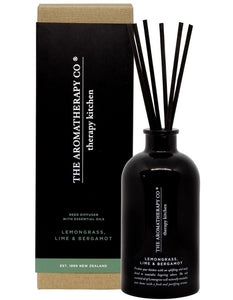 Therapy Kitchen Diffuser | Lemongrass Lime & Bergamot