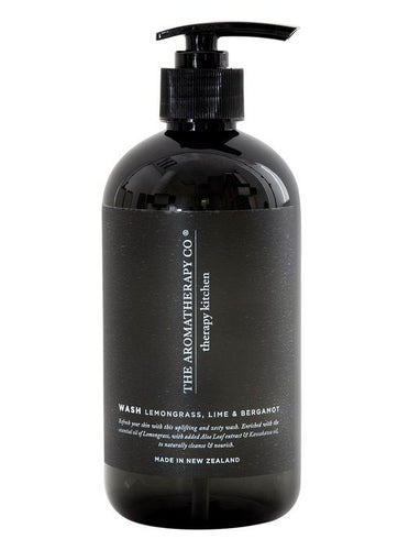 Therapy Kitchen Hand Wash | Lemongrass Lime & Bergamot