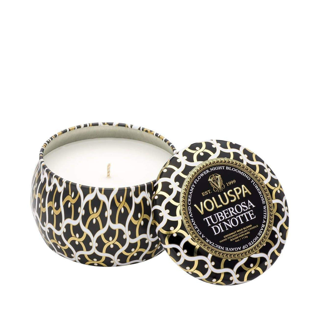 Voluspa Decorative Tin Candle | 3 Fragrances