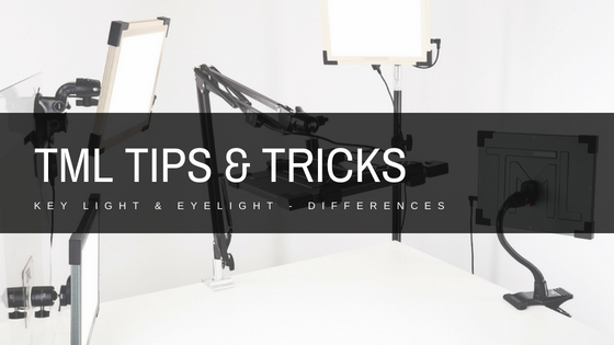 TML's Key Light and Eyelight - Differences