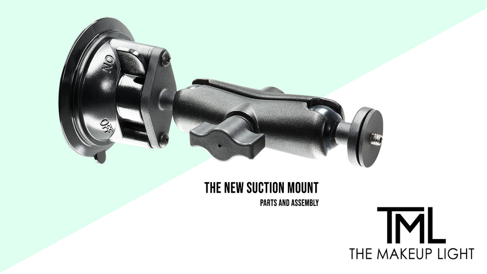 TML Tips: New Suction Mount: Parts and How They're Put Together