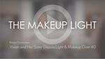 Blueyes Conversation: Vivian and Her Sister Discuss Light & Makeup Over 40
