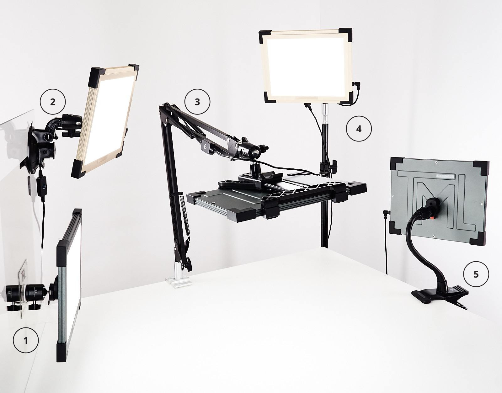 TML family of mounts and Key Lights