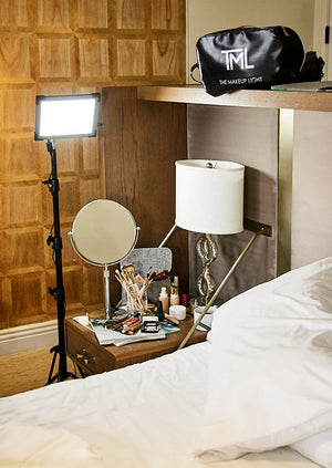 Load image into Gallery viewer, Key Light 2.0 Starter Kit with Stand - LED Light Panel - Luxury Lighting for Pros & Home - The Makeup Light