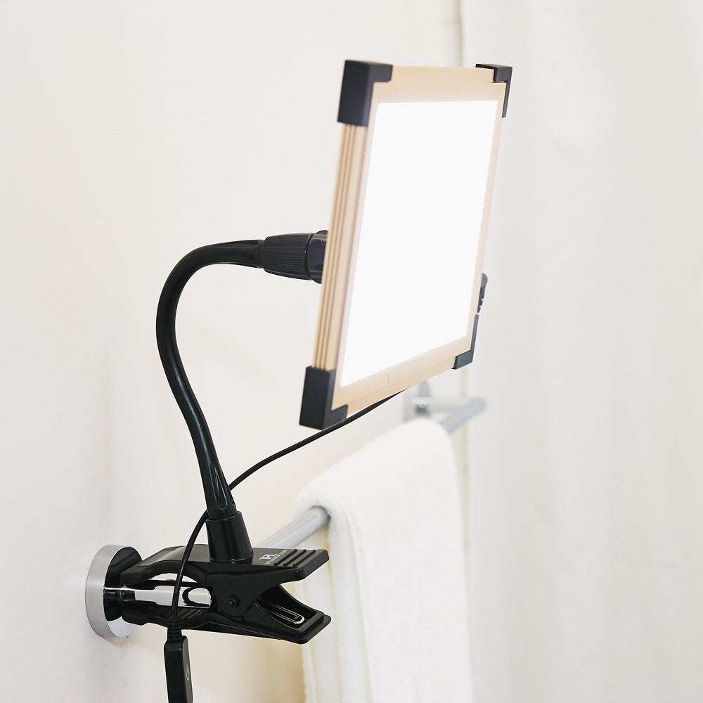 Key Light 2.0 Starter Kit with EZ-Clamp - LED Light Panel - Luxury Lighting for Pros & Home - The Makeup Light