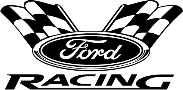 Ford racing one day logo decals stickers car tattoos