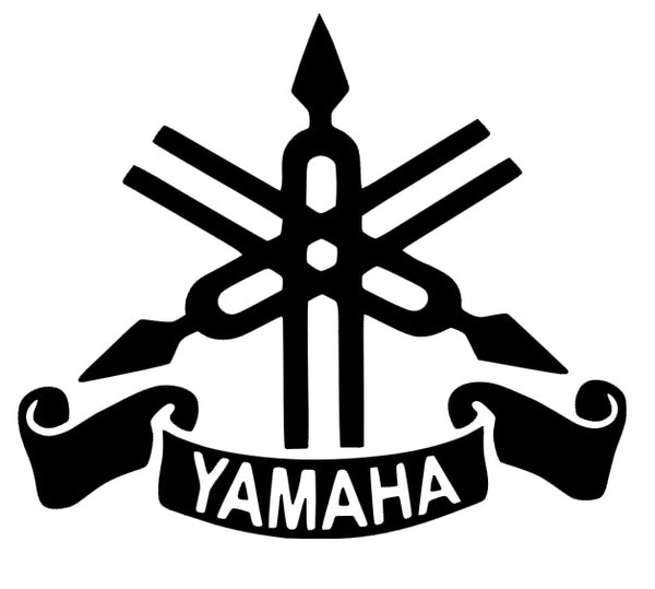 Yamaha 1 logo decals stickers car tattoos