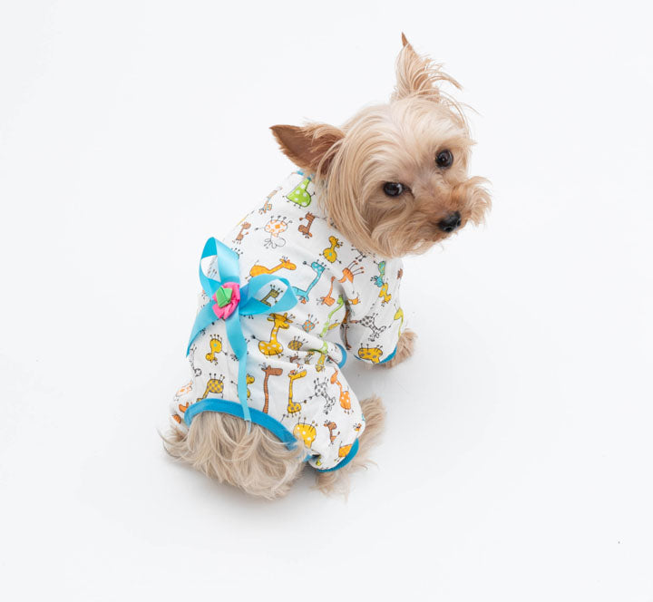 Animal Print Pet Pajamas