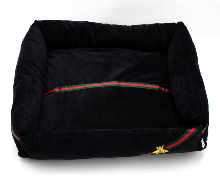 Boujee Pet Bed-Black