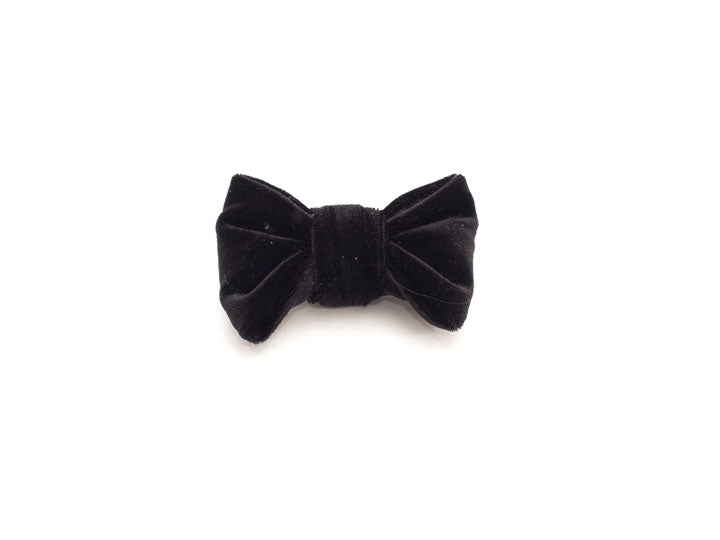 Black Velvet Holiday Bowtie