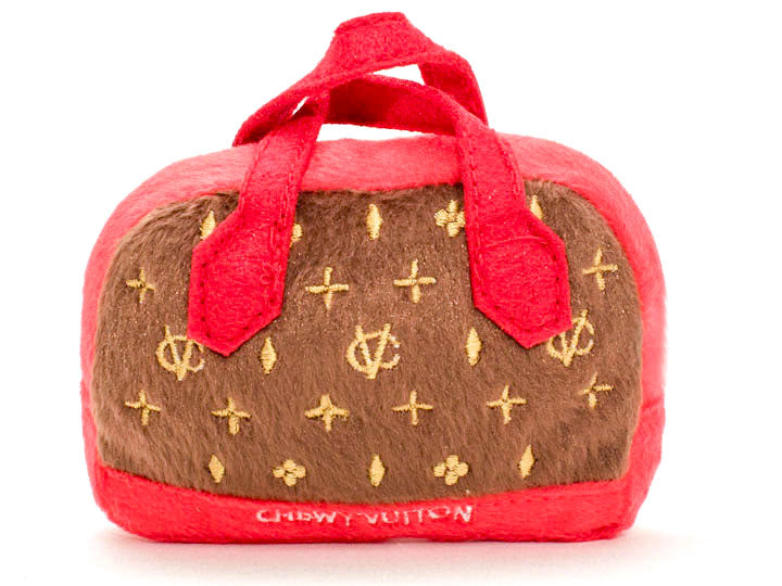 Chewy Vuiton Posh Purse-Pet Toy