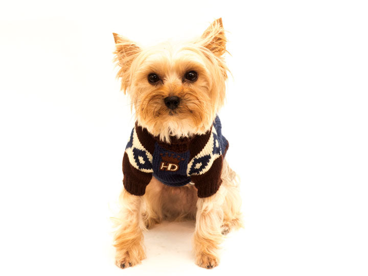 Ski Lodge Dog Sweater