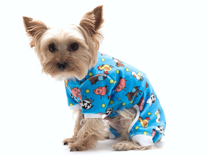Animal Farm Minky Pet Snuggle Suit