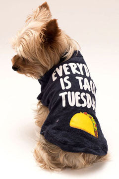 Everyday is Taco Tuesday Pet T-shirt