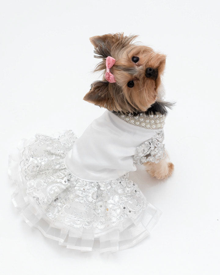 Princess Pet Wedding Dress