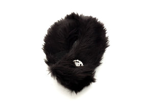 Pet Faux Mink Black