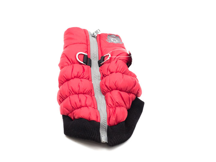 HD Crown Puffe Coat -Red