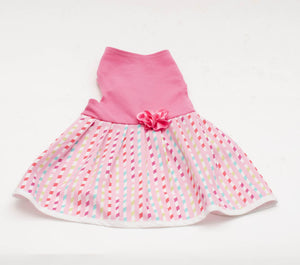 Ribbon Print Skirt
