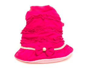 Sweet Winter Dog Coat By Dog-Pink