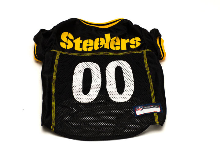 Pittsburgh Steelers Fur Baby Pet Jersey