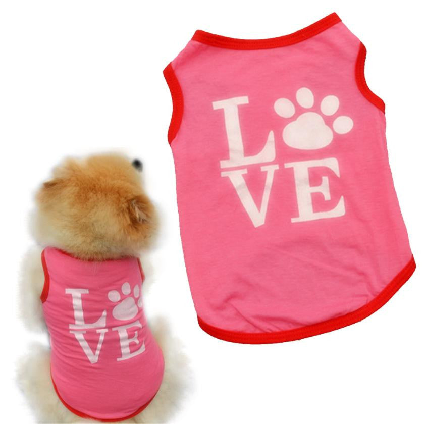 Pet Pink Love T-shirt